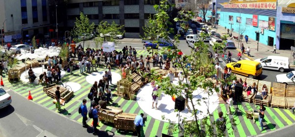 Okuplaza Pavement To Plaza In Santiago Opencity Projects