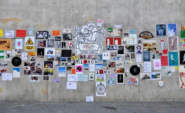 Muro Barcelona 2012