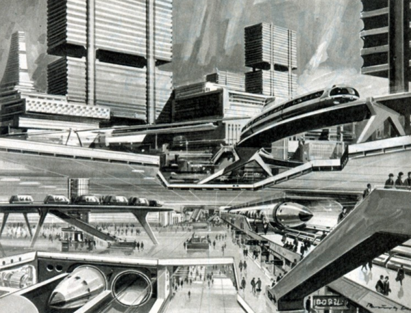 retrofuture city
